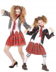 Liten och stor zombie - Halloweenkostym för par