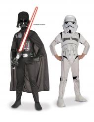 Box med Darth Vader & Stormtrooper dräkt för barn från Star Wars™