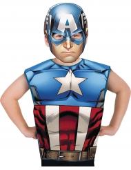 Captain America™ t-shirt och mask för barn