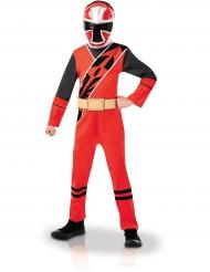 Klassisk Power Ranger™ dräkt i rött för barn