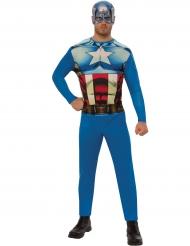 Captain America™-overall för vuxna
