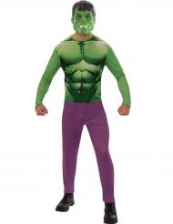 Hulken™-overall för vuxna till maskeraden