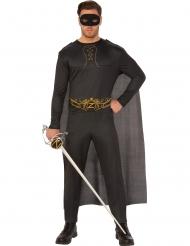 Zorro™-dräkt för vuxna till masekraden