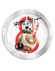 8 tallrikar från Star Wars VIII: The last Jedi™ 23 cm