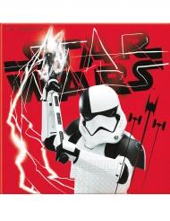 20 papperservetter från Star Wars VIII: Tje Last Jedi™ 33 x 33cm