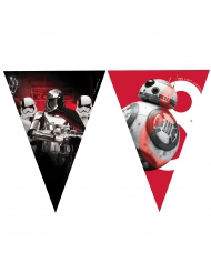 Girlang med vimplar från Star Wars VIII™ 2,30m
