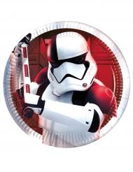 8 små tallrikar till tårtan från Star Wars VIII™ The last Jedi 20cm