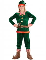 Tomtenisse med polkagrisar - Juldräkt för barn
