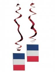 6 mobiler med franska flaggan