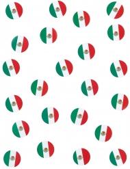 150 konfettin med mexikanska flaggan - Partydekor