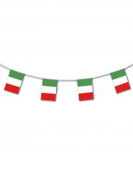 Plastgirland med italiens flagga