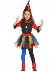 Clownen Zany - Maskeradkläder för barn