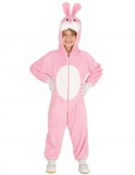 Rosa kanin - Overall till påsken för barn