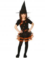 Glittrande häxa - Halloweenkostymer för barn