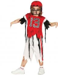 Amerikansk ex-fotbollspelare - Zombiekostym för barn till Halloween