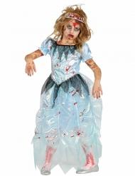 Blå zombie prinsessaklänning - Halloween maskeraddräkt