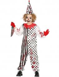 Killer clown - Halloweenkostymer för barn