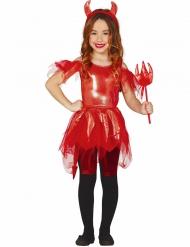 Skimrande djävul - Halloweenkläder för barn