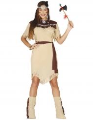 Indianen Isabella damdräkt