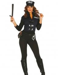 Sexig SWAT-dräkt dam