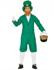 Mr. Leprechaun - Maskeraddräkt för vuxna till St. Patrick