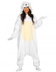 Isbjörn - Maskeradkläder för vuxna