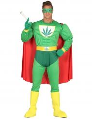 Kapten Cannabis vuxendräkt