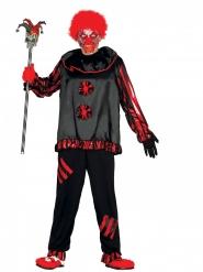 Galen gycklare - Halloweenkostym för vuxna