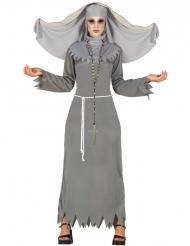Besatt nunna - Halloweenkläder för vuxna