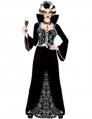Barock spökgrevinna - Halloweenkläder för vuxna