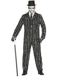 Mr. Bones - Maskeradkläder för vuxna till Halloween