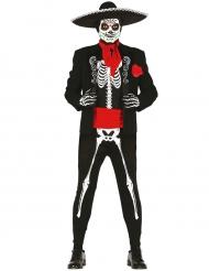 Mr. Calavera - Halloweenkostym för vuxna