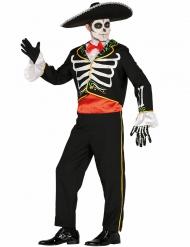 Mr. Maricachi - Dia de los Muertos-dräkt till Halloween