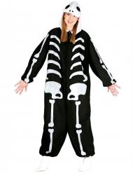 Over-size skelettoverall - Halloweenkläder för vuxna