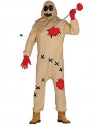 Voodoo docka - Halloweenkostym för vuxna