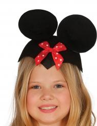 Rolig mus-hatt med rosett barn