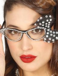 50-talsglasögon med rosett dam