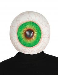 Jätteöga - Maskeradmask i latex till Halloween för vuxna