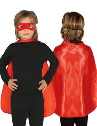 Superhjältemantel för barn till kalaset 55 cm