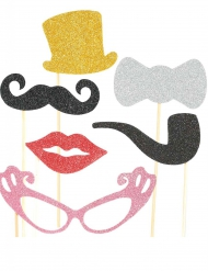 Glitter & Glam - Photobooth kit till festen