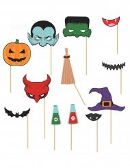 Photobooth till Halloween - 12 tillbehör för grymma foton
