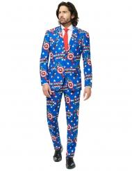 Mr. Captain America™ - Kostym från Opposuits™ för vuxna