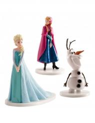 Elsa, Anna och Olaf figuerer från Frost™ 7,5cm