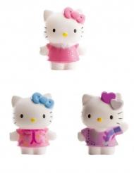 3 Hello Kitty™-figuriner 7cm