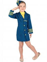 Liten flygvärdinna - Maskeraddräkt för barn