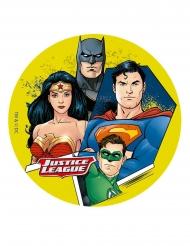 Tårtbild från Justice League™ 16 cm