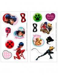 16 Minitårtbilder från Ladybug™ 3,4 cm