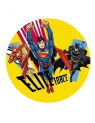 Elite Force - Tårtbild från Justice League™ 20 cm