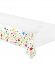 Plastduk med virrvarr av stjärnor 130 x 180 cm