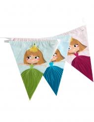 Prinsessgirland med vimplar 270 cm
